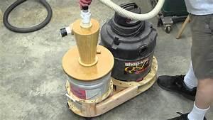 Shop Vac 5 Gallon Cyclone Separator Part 4 - YouTube