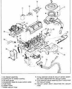 Mazda B2200 Engine Exhaust Diagram