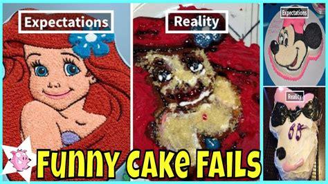 funny cake fails expectations  reality youtube