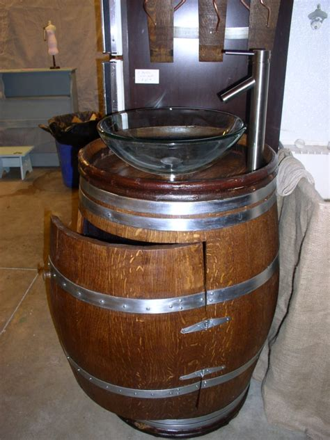 To Da Loos Wine Barrel Sink Vanities Turning Wine Into Water