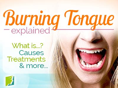 burning tongue symptom information  menopause symptoms