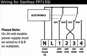 Danfoss Fp715si User Guide Wiring Diagram