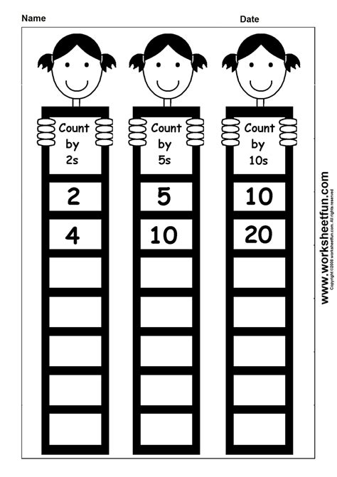 count by 2s 5s 10s homeschooling math misc