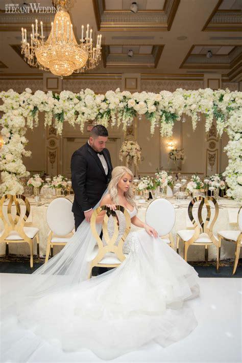 White & Gold Luxury Wedding Inspiration Elegantweddingca