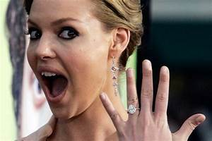 the best celebrity engagement rings With best celebrity wedding rings