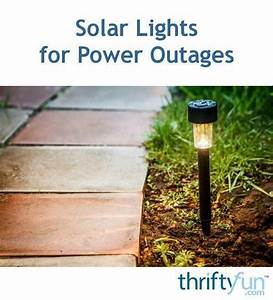 Solar Lights For Power Outages In 2020  With Images