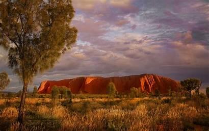 Uluru Desktop Northern Territory Backgrounds Australia Australi