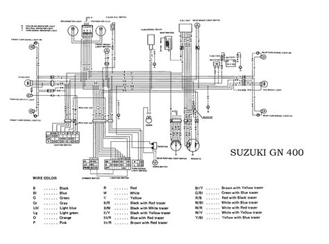 Suzuki Electrical Wiring Diagram All About