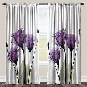 laural homer lavender hope rod pocket sheer window curtain With sheer lavender curtains