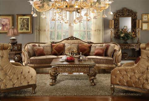 hd  homey design seccional estilo victoriano europeo