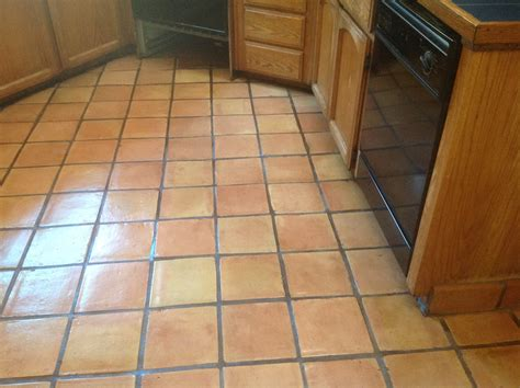 Removing Grout Residue From Tile by Antique Saltillo Floor Cleaning Amp Refinishing In Santa Cruz Ca