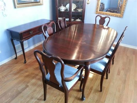 furniture kitchener waterloo gibbard legacy mahogany oval dining room set nepean ottawa