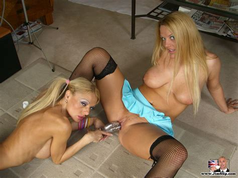 Jim Slip Antonia Deona And Leah 1 Horny Blonde British