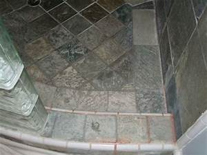 slate showers do you clean soap scum for slate tile With soap scum on shower floor