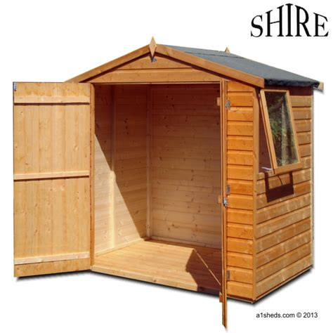 Shire Sheds by Shire Bute 4x6 Shed
