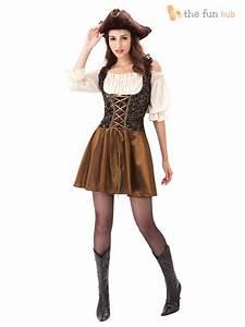 Damen Kostüm Piratin : piratenkost m f r damen karibik fasching karneval kost m pirat piratin gr 38 42 ebay ~ Frokenaadalensverden.com Haus und Dekorationen