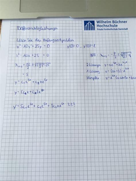 beispiel zu differenzialgleichung  ordnung mathelounge