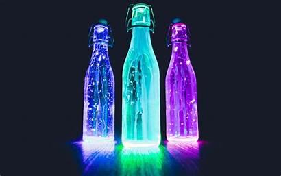 Neon Liquid 4k Wallpapers Ultra Bottles Backgrounds