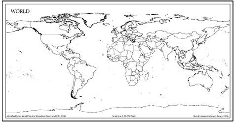 world map outline  countries world map outline