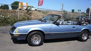 83 Mustang GLX 5 speed 5.0 Convertible 1983 Factory First - YouTube