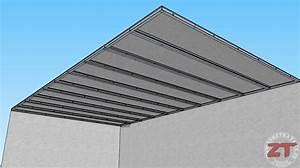 Faux Plafond Autoportant : brico le faux plafond autoportant ~ Nature-et-papiers.com Idées de Décoration
