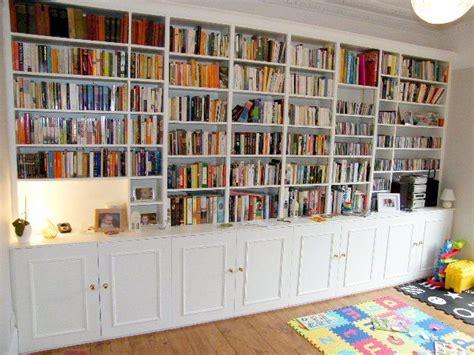 Full-wall Bookshelves Build Plans Full Wall Bookshelves