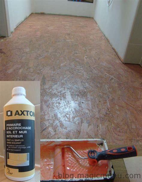 carrelage sur plancher bois pr 233 paration du sol