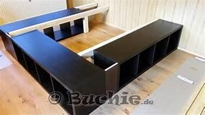 Ikea Kallax Ideen : ikea hack so wird aus kallax regalen ein bett ~ Eleganceandgraceweddings.com Haus und Dekorationen