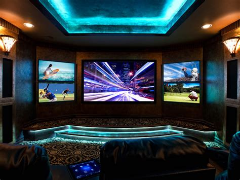 Multiscreen Is A Hot Trend In Home Theatre