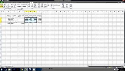 Waterfall Excel Chart Template Negative Values Tutorial