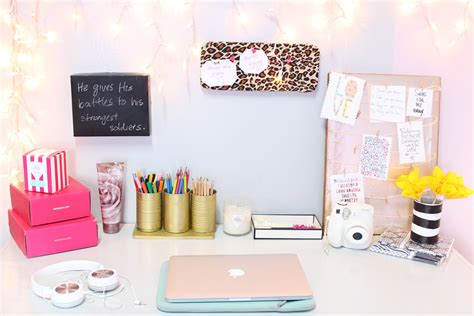 diy desk decor easy inexpensive  classy  girl