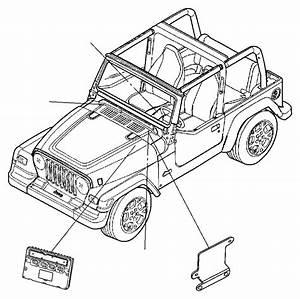 2005 Jeep Wrangler Module  Powertrain Control  Generic