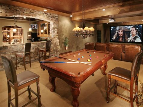 how big is a bar pool table 15 basement design ideas will inspire you