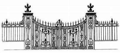 Gates Metal Gate Potter Studios Drive Iron