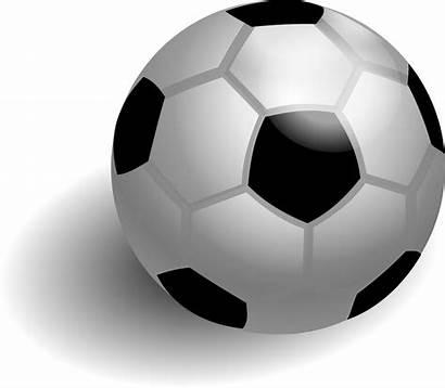 Soccer Ball Clipart Clip Football Balls Shadow