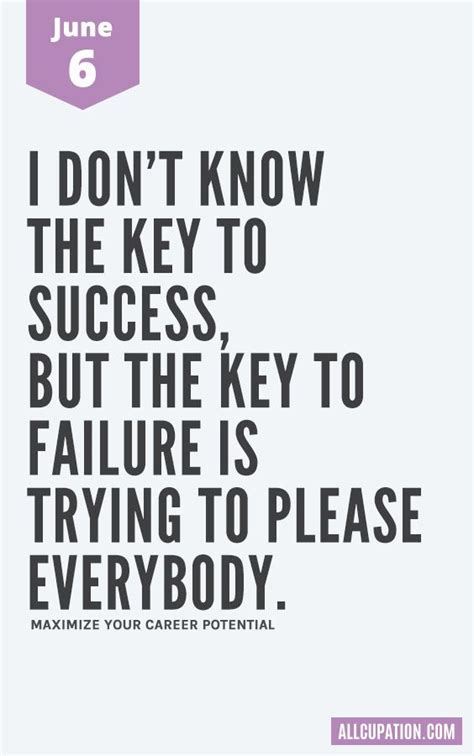daily inspiration june   dont   key