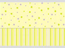 Amarelo e Lilas Poa e Listras Kit Completo com molduras