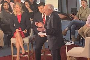 Bernie Sanders meets Fox News at town hall in Bethlehem ...