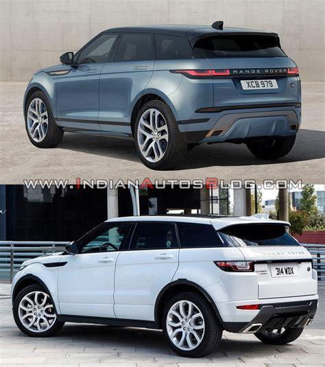 2019 range rover evoque 2019 range rover evoque vs 2015 range rover evoque