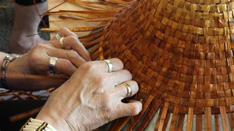 story  cedar cedar hat weaving bark pulling cowichan
