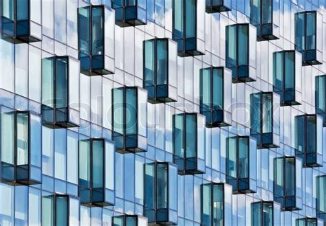 Treppengeländer Modern Glas by Modern Glass Facade Stock Photo Colourbox