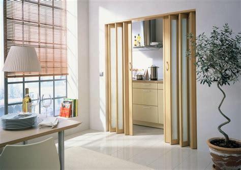 verre pour porte de cuisine les portes pliantes design en 44 photos