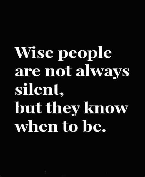 Wise Quotes About Silence Quotesgram