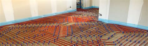 Water Underfloor Heating Systems