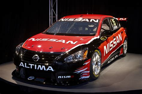 nissan and racing launch altima v8 supercar speedcafe