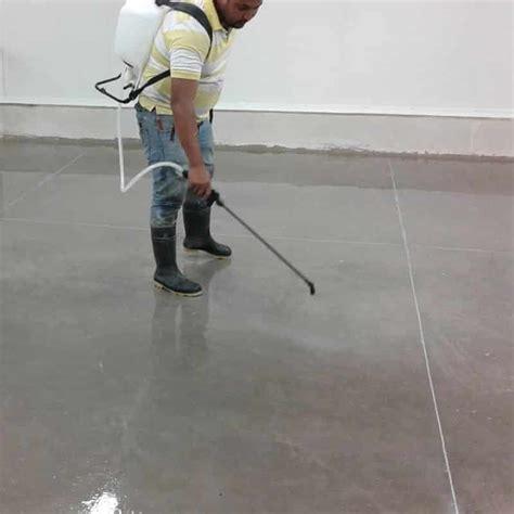 Lithium Silicate Concrete Hydrostatic Vapor Barrier Densifier