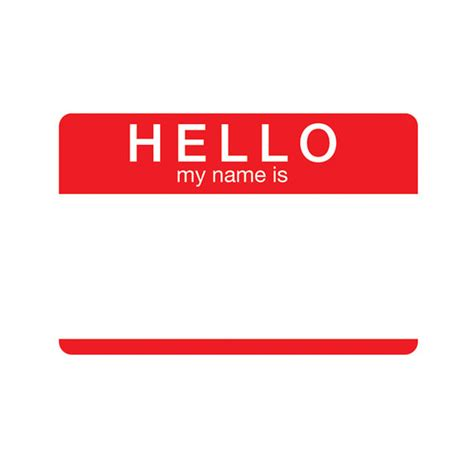 Hello My Name Is Tin Sign Stupidcom