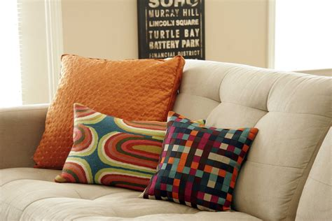 white sofa with colorful pillows living room decorative pillows for sofa throw pillow
