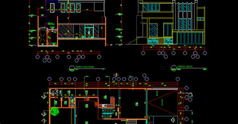 denah rumah minimalis  lantaidwg desain rumah minimalis