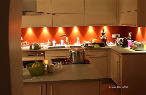 deco cuisine orange salon beige marron taupe